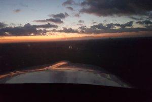Nachtflugausbildung bei der Flugschule Fläming Air in Berlin-Brandenburg