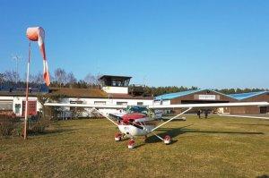 Eine Cessna chartern bei der Flugschule Fläming Air