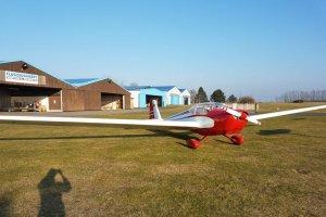 Motorsegler chartern bei der Flugschule Fläming Air
