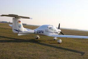 Kleinflugzeug Diamond Star DA 40 mieten bei der Flugschule Fläming Air