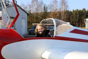 auf dem Weg zum Privatpiloten bei der Fläming Air Flugschule